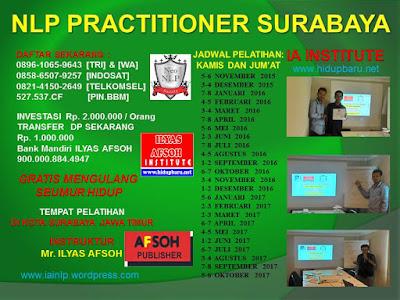 Jadwal Pelatihan NLP di Surabaya 2016 2017