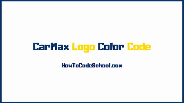 CarMax Logo Color Code