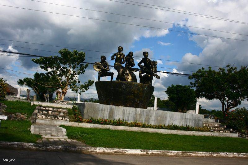 Sculptures at Sarangani Provincial Capitol in Mindanao
