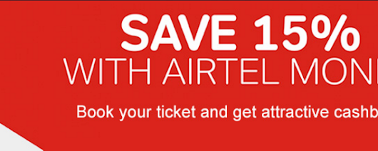 Bookmyshow - Get Flat 15% Cashback on Booking of Movie Tickets Using Airtel Money