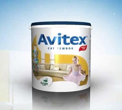 Warna-Warna Cerah Cat Tembok Avitex Untuk Rumah Anda