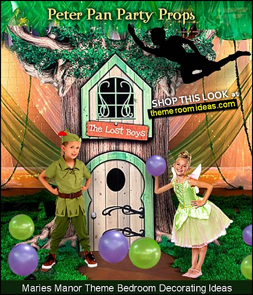 neverland party pixie hollow party props peter pan party decorations tinkerbell costumes