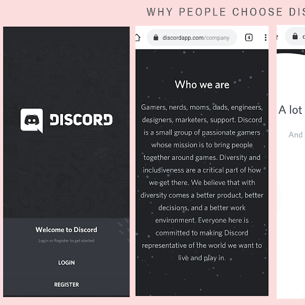 Belajar dan chat via Discord