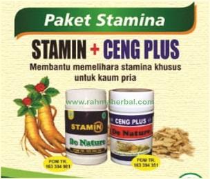 Stamin dan ceng plus Paket stamina
