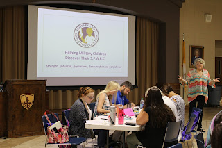 """Montgomery Catholic Teachers Learn to Help Military Children Find Their """"Spark"""" 3"""
