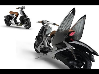 Yamaha 04Gen Concept Scooter wallpapers