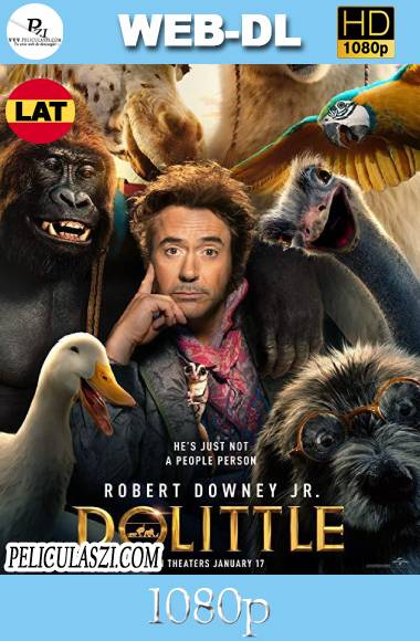 Dolittle (2020) HD WEB-DL 1080p Dual-Latino