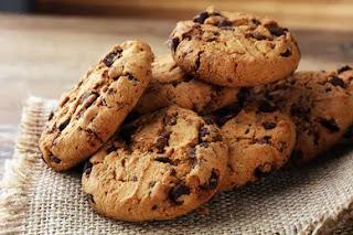 damla çikolatalı cookie