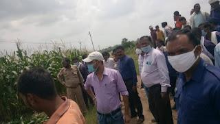 ग्राम जैतपुर खुर्द के 9 व्यक्तियों द्वारा लगभग 10 एकड़ क्षेत्र में किया गया अतिक्रमण हटाया