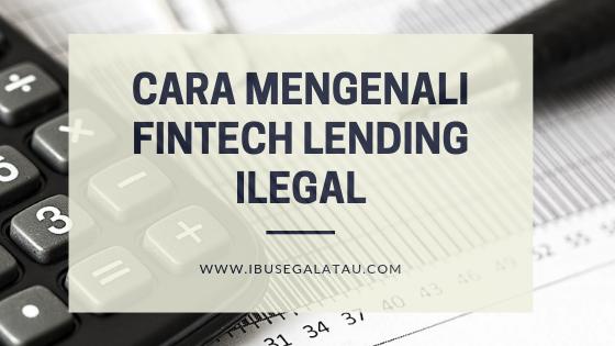 fintech lending ilegal