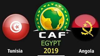 مشاهدة مباراة تونس وانجولا بث مباشر اون لاين اليوم 24-06-2019 كأس الأمم الأفريقية