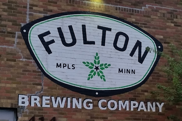 front of Fulton Brewing Taproom