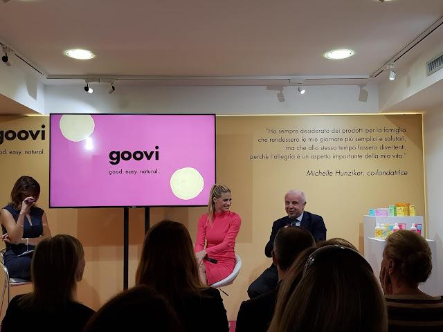 Nasce Goovi, il nuovo brand per le donne e per tutta la famiglia, lanciato da Michelle Hunziker