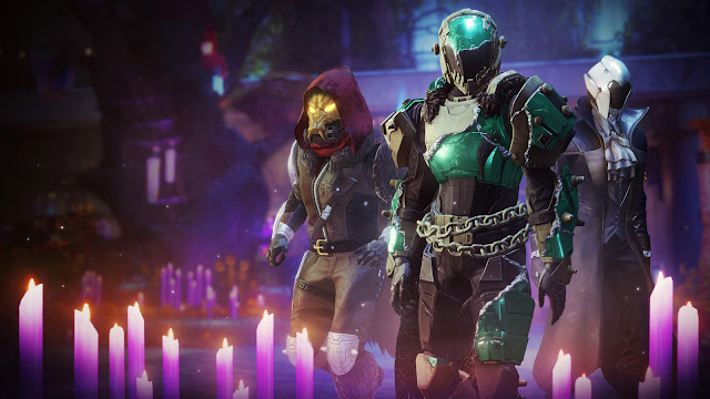 destiny 2 festival of the lost 2020 spooky universal ornaments armor ghost equips one-inch punch finisher halloween limited time event live now free to play online multiplayer first person shooter bungie pc steam ps4 xb1 x1