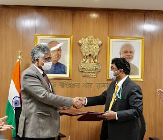 MoRTH Signed MoU with DRDO