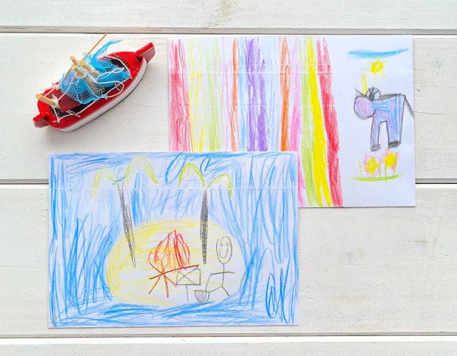 DIY: Umschlag für einen Gutschein gestalten (eine einfache Idee). Ich zeige Euch auf Küstenkidsunterwegs, wie Ihr Umschläge für Gutscheine schnell, kreativ und kinderleicht mit einer ungewöhnlichen Methode herstellt!