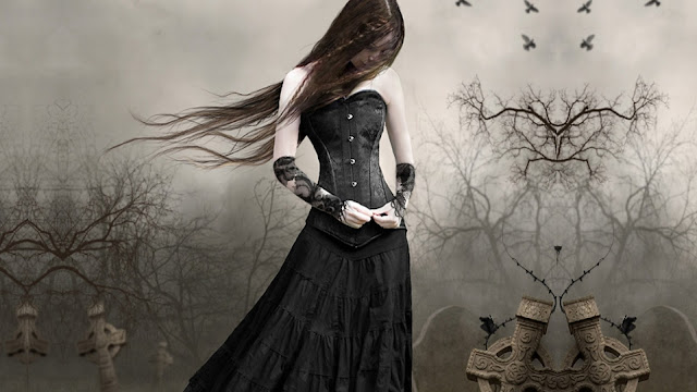 Image gothic girl HD wallpaper