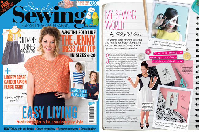 Simply Sewing issue 28