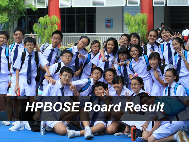 HPBOSE Result 2018 Himachal Pradesh Board Result @hpresults.nic.in