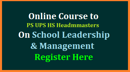 SCERT, Instructions to School Heads of all Schools working in Government sector to enrol into online course of school leadership and Management of NCSL-NIEPA  NCSL-NIEPA, New Delhi has launched an online foundation course on School Leadership and Management for School Heads/Principals of all Schools (Government/Govt. Aided).