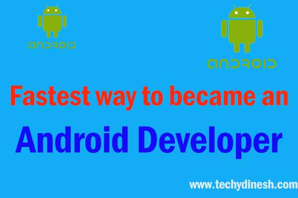 Fastest way to became an Android Developer in 2021| Roadmap to Became an Android Developer