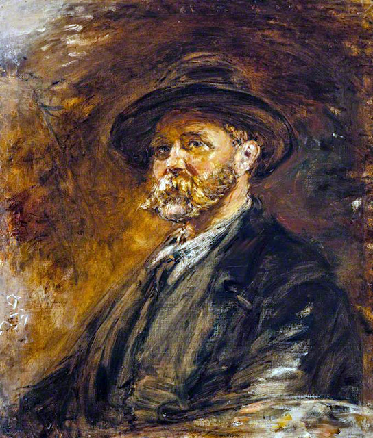 William McTaggart, Self Portrait, Portraits of Painters, Fine arts