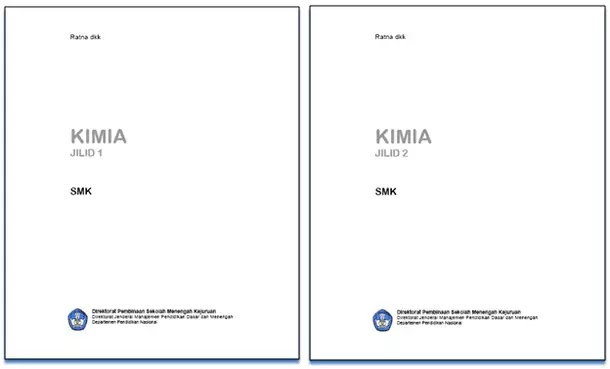 Buku Bahan Ajar Adaftif Kimia SMK