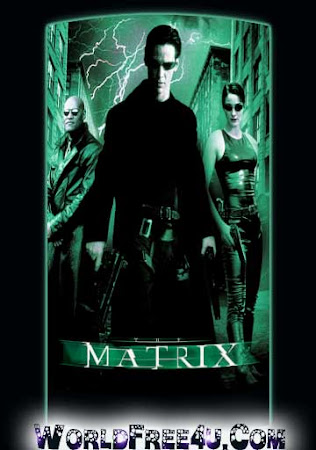 Poster Of The Matrix 1999 In Hindi Bluray 1080P Free Download
