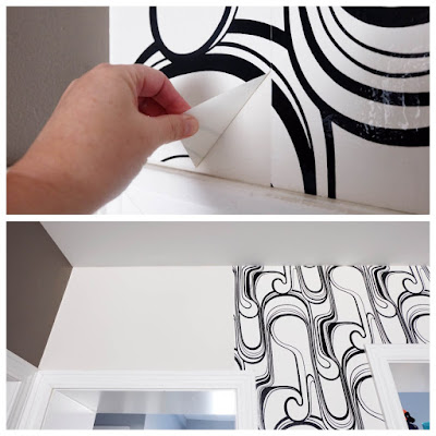 wallpaper peel remove removal easy