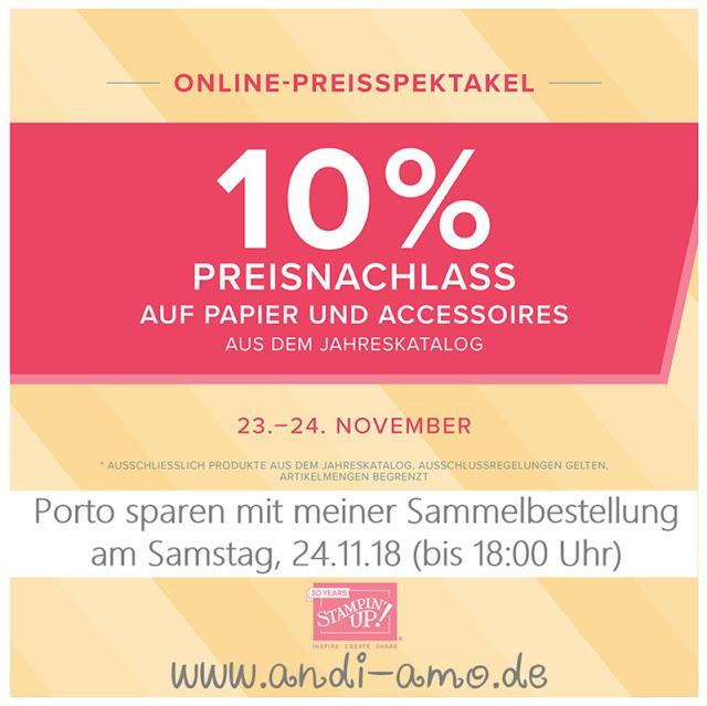 Online Preisspektakel Tag 1 Papier und Accessoires