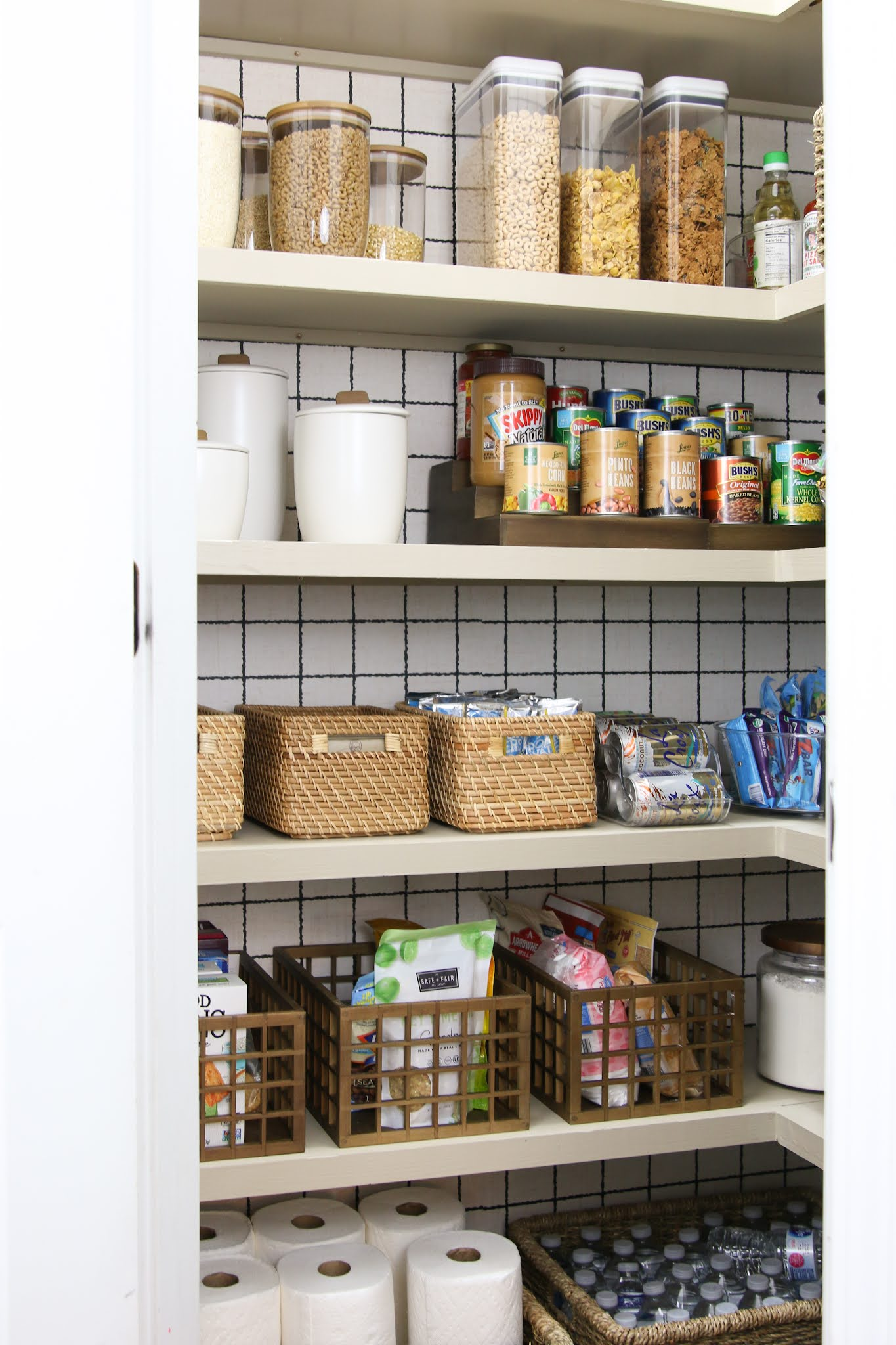 How to Create a Pretty and Practical Pantry