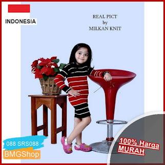 SRS088 Dress Anak Perempuan Rajut Tebal BMGShop