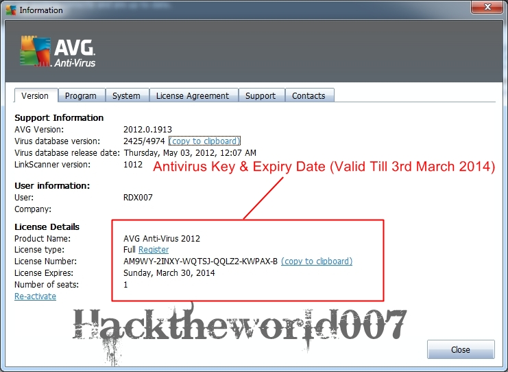 avg antivirus 2014 key