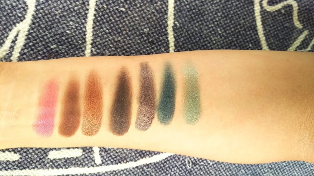 Urban decay born to run swatches 3