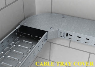 غطاء حوامل الكابلات cable trays accessories