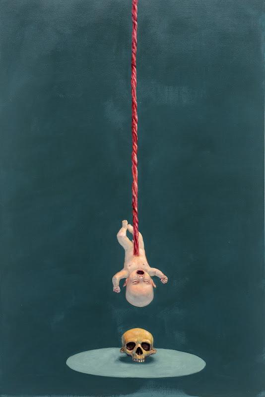 Fra fødsel til død -- 'So simple' af Michael Kvium