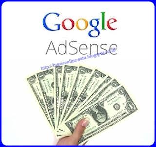 Google Adsense Bisnis Online Berpenghasilan Dollar
