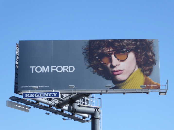 Tom Ford Eyewear fw16 billboard