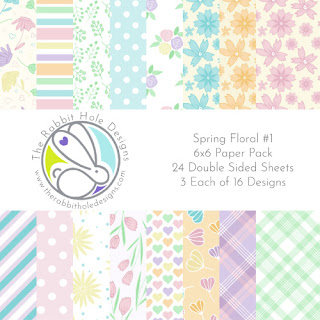 Spring Floral #1 - 6x6 Paper Pack