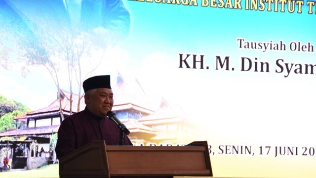 Ratusan Alumni ITB Nyatakan Dukungan kepada Din Syamsuddin