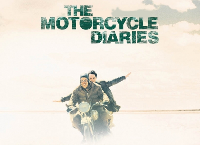 Film poster for the movie 'The Motorcycle Diaries'