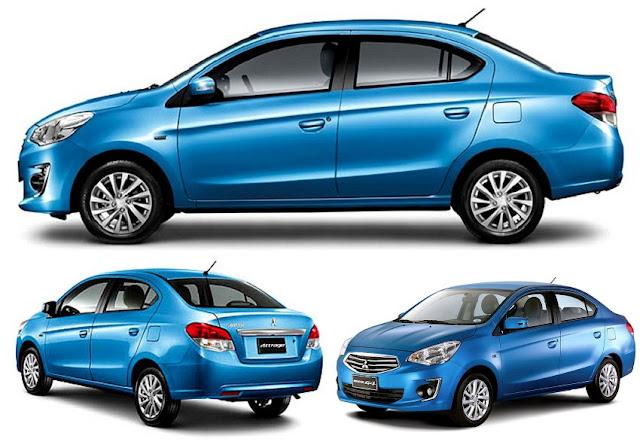 Kereta Compact Sedan Popular di Malaysia - Mitsubishi Attrage