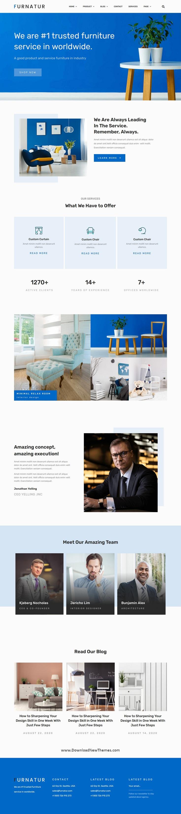 Furniture eCommerce Template Kit