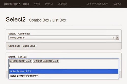Using Select2 in XPages (Part II) | XPages and more