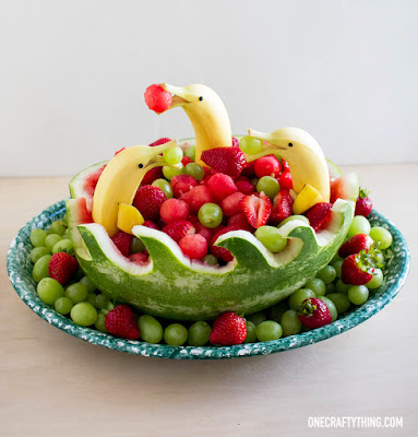 Dolphin & Waves Fruit Bowl