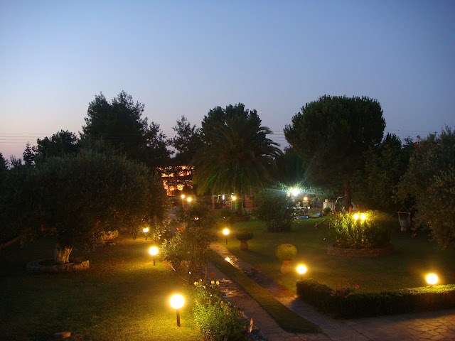 Romantic and idillic atmosphere in the Garden