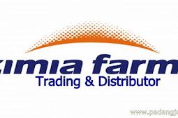 Lowongan Kerja Padang Desember 2017: PT. Kimia Farma Trading & Distributor