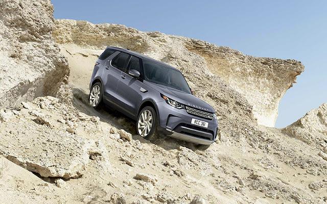 Land Rover Discovery có thiết kế thân nhôm nguyên khối rất nhẹ