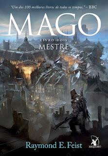 Saga do Mago, Mago, Mestre, Raymond E. Feist, Editora Arqueiro