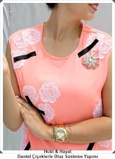 Giysi Süsleme - Bluz Süsleme